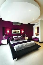 chambre couleur aubergine lit style japonais peinture aubergine chambre a coucher mur