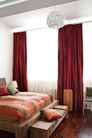 red bedroom curtains bedroom with red curtains bedroom romantic bedroom decor ideas