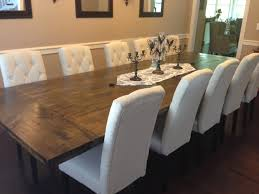 Rustic Dining Room Table In The House Diy Rustic Dining Room Table Reveal