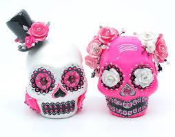 skull cake topper madamepommcustomorder bunnygirl1313 skull wedding cake topper