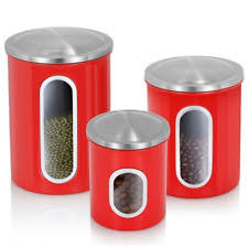 canister kitchen set stainless steel kitchen canister sets ebay