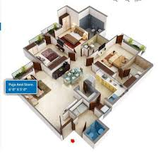 Grand Connaught Rooms Floor Plan by Amrapali Grand In Zeta Greater Noida Rs 55 Lac Onwards