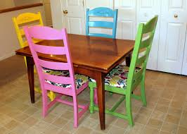 Colorful Kitchen Table Amazing Colorful Kitchen Chairs Hd9l23 Tjihome