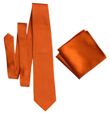 orange spice color pumpkin spice pocket square medium orange solid color woven silk