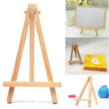 10 20x mini wooden easel artist painting name card stand