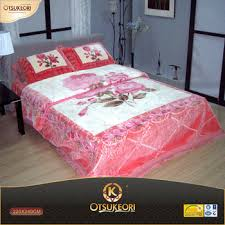 bed sheet quality 100 polyester korean raschel quality blanket bed sheet set buy