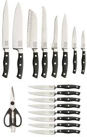 chicago cutlery kitchen knives chicago cutlery insignia2 steel 18 block set walmart canada