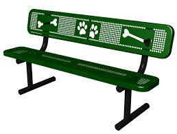 sit u0026 stay bench dog park equipment american parks company