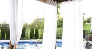 Cabana Curtains Curtains Cabana Curtains Outdoor Patio Curtains Backyard Patio