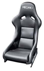 si e auto sport recaro recaro pole position n g black leather race car cars