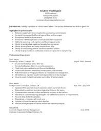 serving resume exles sle serversume dining sidemcicek description sles