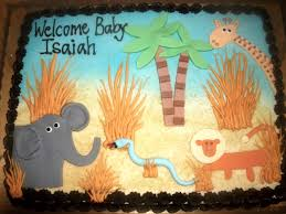 safari theme baby shower cakes u2014 liviroom decors safari cakes