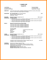 Example Of Resume Title by 4 Example Of Resumes For Jobs Emt Resume