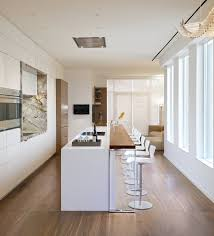 bright kitchen island food bar yorkville penthouse ii in