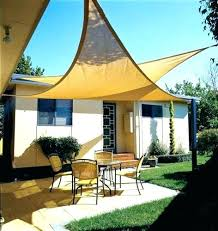 Backyard Canopy Ideas Deck Shade Ideas Patio Ideas Overlapping Backyard Sun Sails