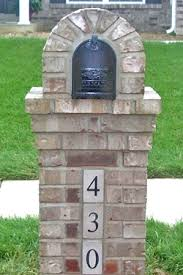 Pedestal Mailbox Chic Doors Mailbox Replacement