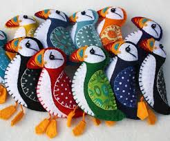 puffin ornaments and gifts puffin patchwork