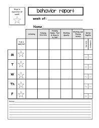 pupil report template best 25 behavior report ideas on parent contact form