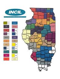 Decatur Illinois Map by Illinois Network Of Centers For Independent Living