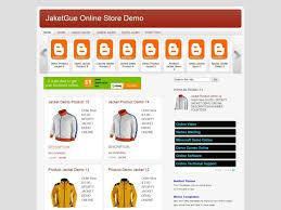 jaketgue store blogger template by blog shop templates blogr