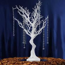 manzanita trees 30 glittered manzanita table top decoration tree 8pcs acrylic