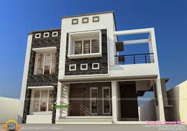 flat roof style home kerala home design and floor plans