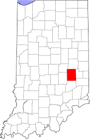 national register of historic places listings in rush county