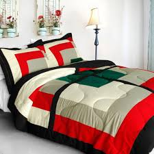 home design down alternative color comforters total fab mid century modern bedding sets