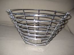 set of three chrome kitchen baskets for 5 00 in lewisham
