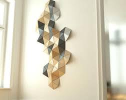 geometric wall decor etsy