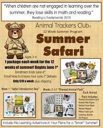 animal trackers club review kids activities delivered to your