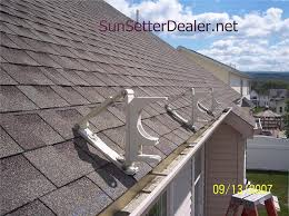 How Much Are Sunsetter Awnings Sunsetter Roof Brackets Patio Awning Roof Brackets