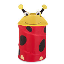 Laundry Hamper Kids by Honey Can Do Medium Kid U0027s Pop Up Hamper Lady Bug Hmp 02057 The