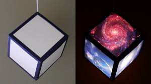 diy pendant lamp lantern galaxy cube home and room decor diy pendant lamp lantern galaxy cube home and room decor ezycraft