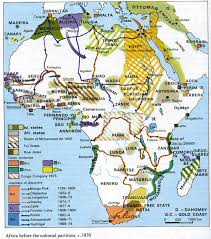 africa map before colonization africa before the colonial partition c 1870