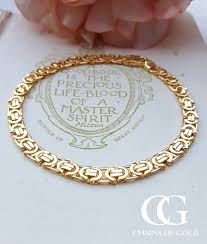 gold bracelet chains images 9ct yellow gold byzantine bracelet 7 5 quot 8 5 quot chains of gold jpg