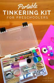 portable tinkering kit for preschoolers left brain craft brain