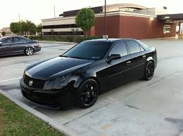 lowered cadillac cts gauging interest 2004 cadillac cts v murdered out