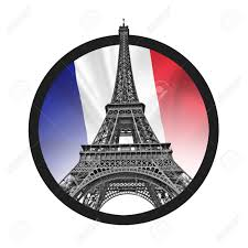 French Flag Eiffel Tower Eiffel Tower Symbolizing Peace Sign French Flag Tricolor In