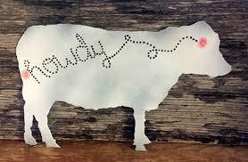 Cow Decor Cow Wall Decor Cattle Decor Cow Decor Ranch Decor