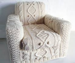 arm chair cover armchair cover that looks like a cable knit sweater