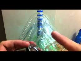 making a christmas tree using plastic bottles youtube