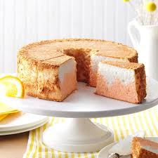 orange dream angel food cake recipe taste of home