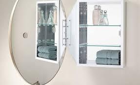 cabinet white medicine cabinet with mirror aliveness recessed