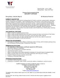 Security Guard Resume Sample No Experience Job Resume Best And Professional Templates