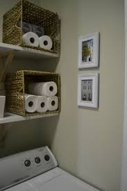 Ideas For Laundry Room Storage by Best 25 Paper Towel Storage Ideas On Pinterest Paper Towel