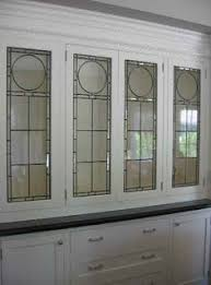 Leaded Glass Cabinet Doors Google Search Leaded Glass - Glass kitchen cabinet door