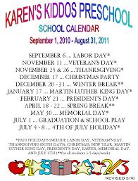 karenskiddos schedule