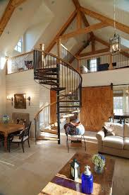 Black Banister Dishy Exclusives Loft Living Room Traditional With Open Concept