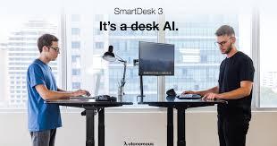 how to program autonomous desk smartdesk 3 ai powered standing desk indiegogo